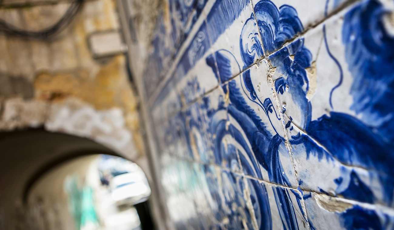 Lisboa (azulejos baixa) – Portugal