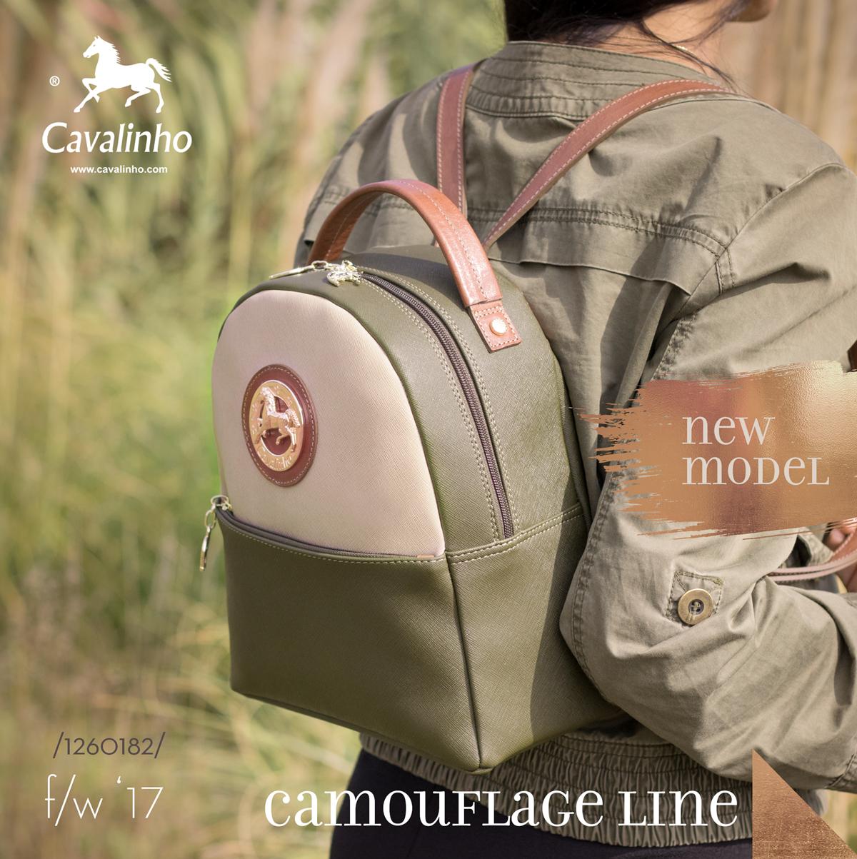 Nova Coleção Outono/Inverno 2017 Cavalinho - Camouflage Line