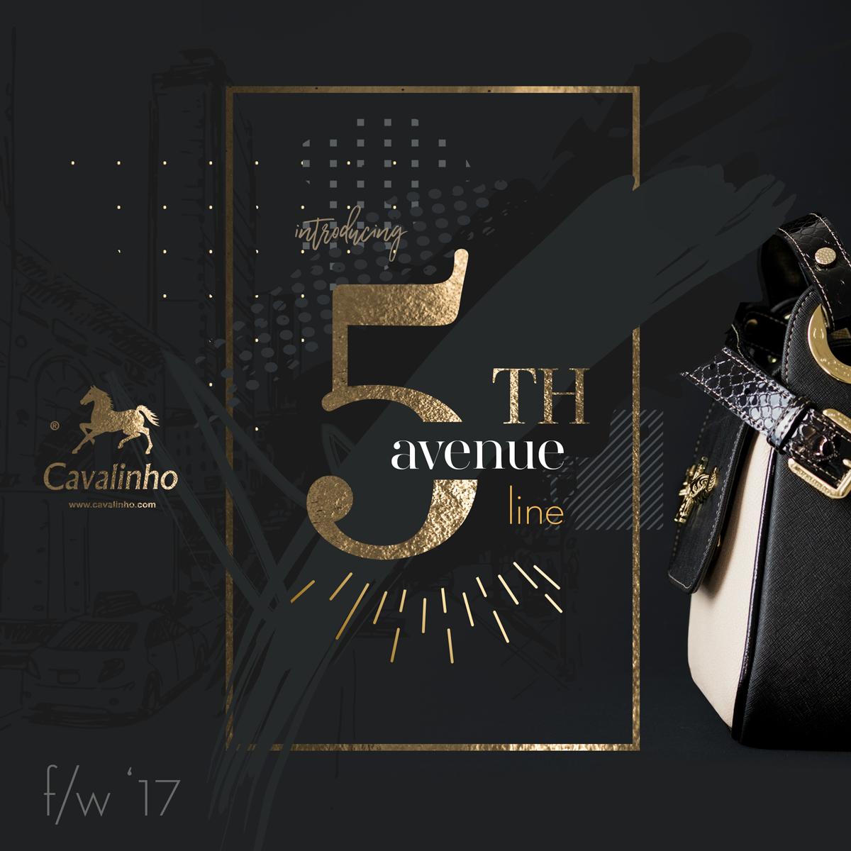 Nova Coleção Outono/Inverno 2017 Cavalinho - 5th Avenue Line