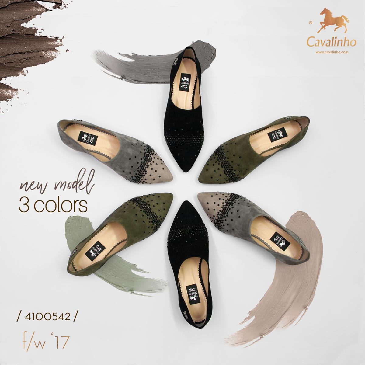 Nova Coleção Outono/Inverno 2017 Cavalinho - Sapatos de Mulhes