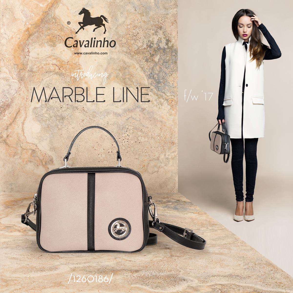 Nova Coleção Outono/Inverno 2017 Cavalinho - Marble Line