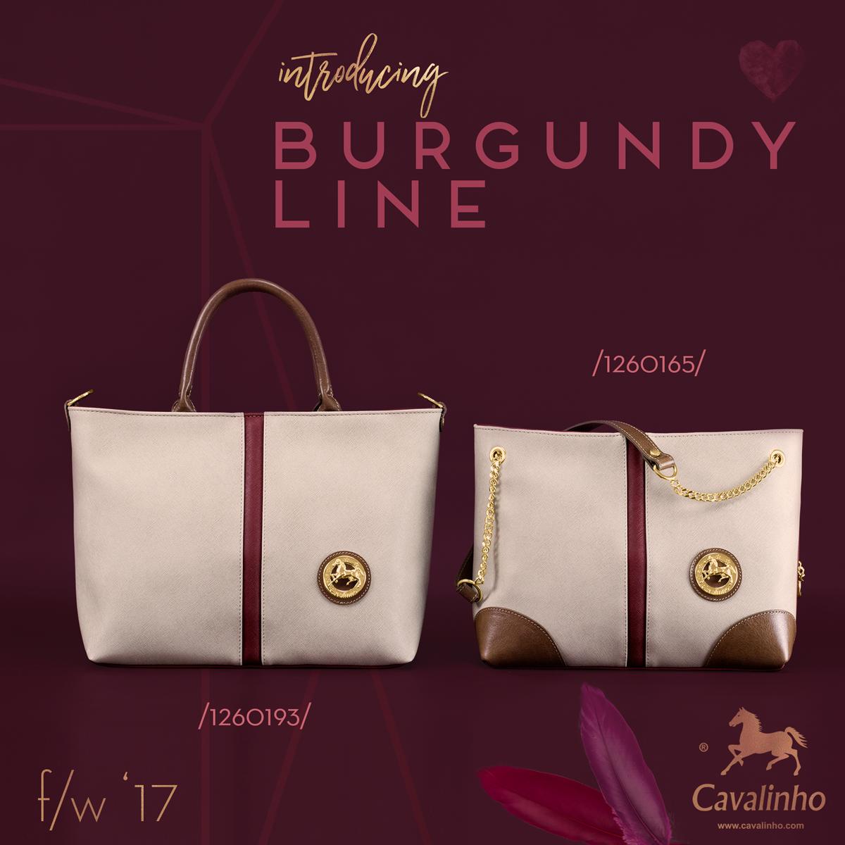 Nova Coleção Outono/Inverno 2017 Cavalinho - Burgundy Line